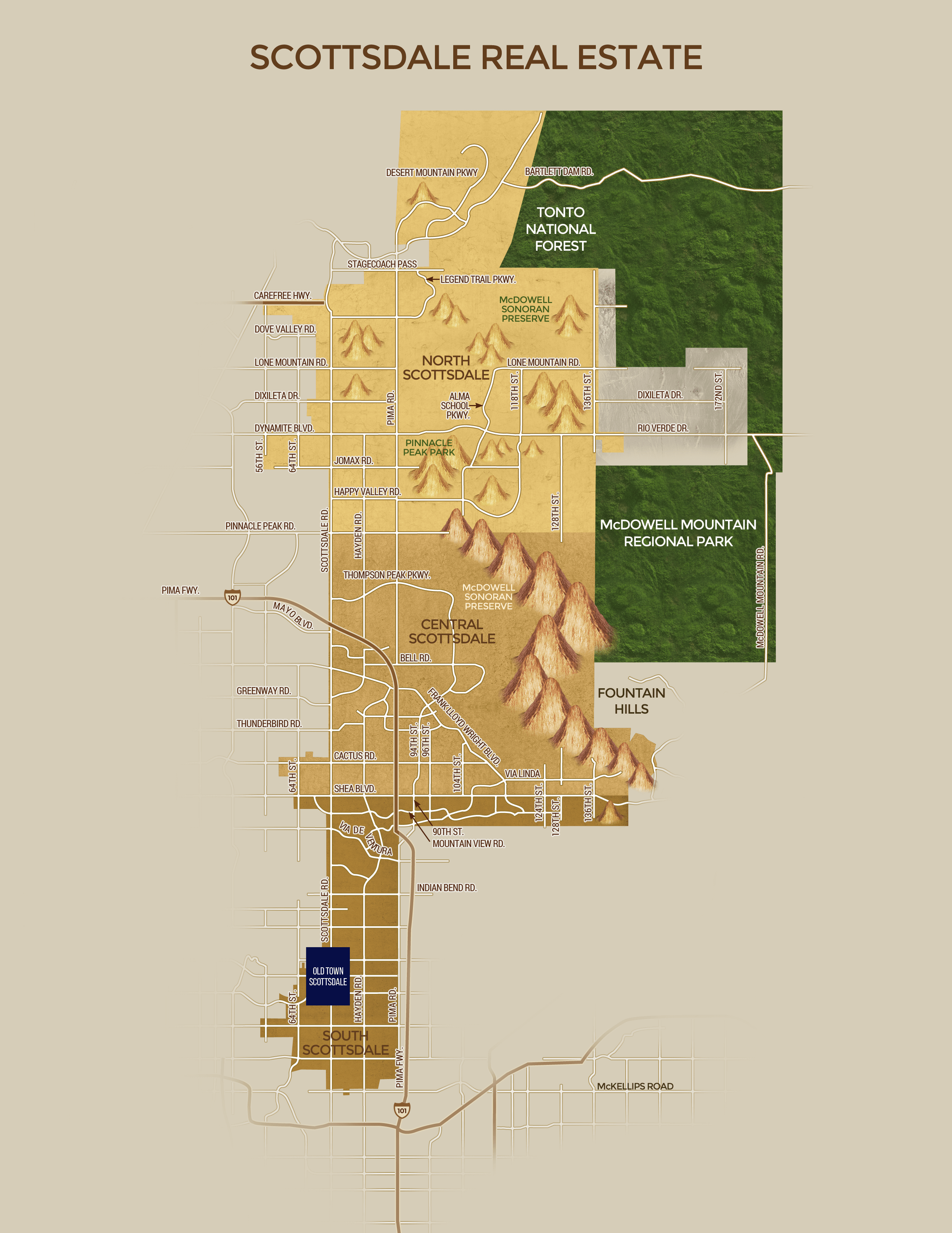 Scottsdale Real Estate Map