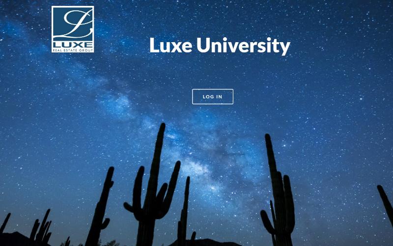 Luxe University Training Portal